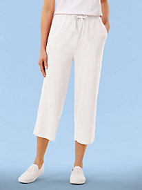 Sweet Essentials Cotton Capris