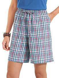 BocaBay� Madras Shorts