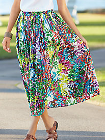 BocaBay� Flower-to-the-People Skirt