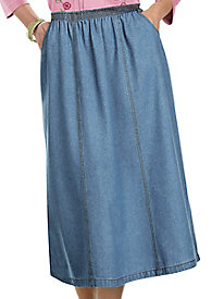 American Sweetheart� Denim A-Line Skirt