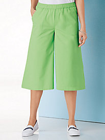 American Sweetheart® Chambray Culottes