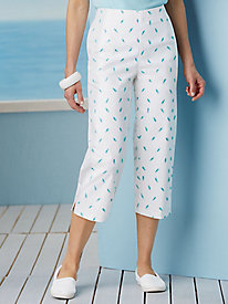 Cape May Printed Capris