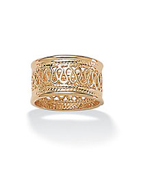 Open Weave Decorative Ring
