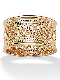 Open-Weave Decorative Ring