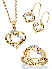 Heart to Heart 3-Piece Jewelry Set