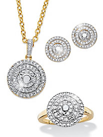 Genuine Diamond 3-Piece Set