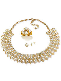 Pearl & Crystal 3-Piece Set