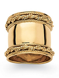 Cigar Band-Style Ring