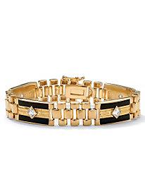 Men's Onyx Bracelet Set 114792
