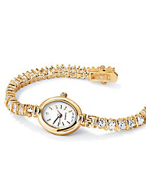 Tennis Bracelet Set - Gold-Plated