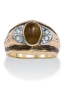 Men's Tiger's-Eye Ring