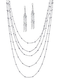 Station Chain Jewelry Set