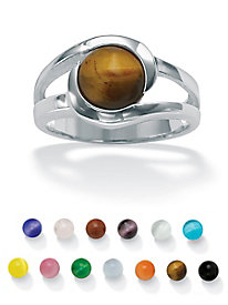 Ring Set with Interchangeable Stones