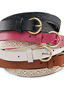 Crochet Belts