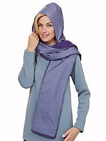 Fleece-Lined Hood Wrap