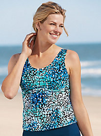 Empire-Waist Tankini Top