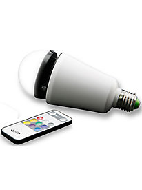 Wireless LED Light Bulb and Speaker
