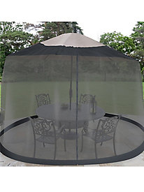 11' Umbrella Table Screen