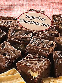Sugar Free Chocolate Walnut Fudge