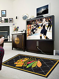 NHL� 4' X 6' Area Rugs