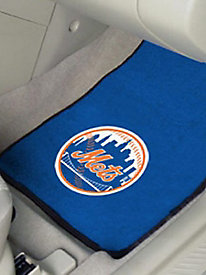 MLB© 2-Piece Front Carpet Car Mats