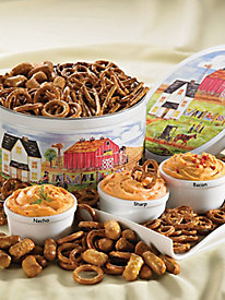 Pretzels & Creamy Country® Cheese Spreads