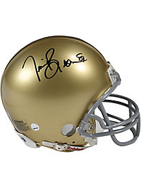Tim Brown Signed Notre Dame Mini Helmet