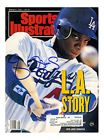 Darryl Strawberry Signed 3/4/91 Sports Illustrated Magazine