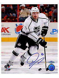 Drew Doughty Autographed 'Skating' 8x10 Photo