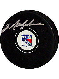 Mark Messier New York Rangers Autographed Puck