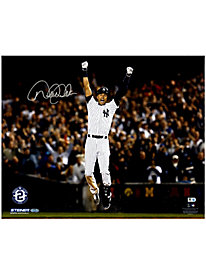 Derek Jeter Autographed 'Celebration after Walk Off' 16x20 Photo