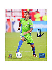 Clint Dempsey Autographed Seattle Sounders 'Dribbling' 16x20 Photo