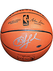 Chris Paul Autographed I/O Basketball(Signed in Silver)