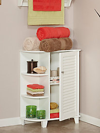 Ellsworth Collection - Floor Cabinet with Side Shelves