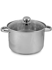 8 qt. Stock Pot with Glass Lid