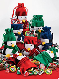 Sweet Penguin Pals - Set of 8 - 2 lbs 2 oz