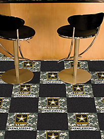 Military Branches Carpet Tiles