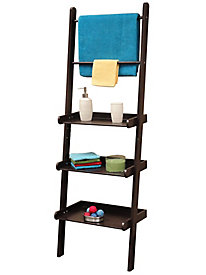 Bath Ladder Shelf/Towel Bar