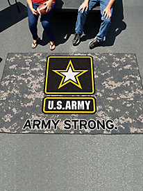 Military Branches Large Tailgating Mat