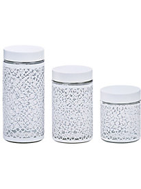 3 pc. Glass Canister Set