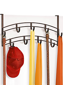 Lynk� Over Door Accessory Organizer - 9 Hook