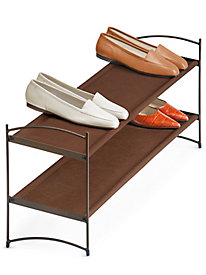 Lynk� Vela� Stackable Shoe Shelves 2 Tier