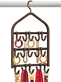 Lynk� Double-Sided Accessory Organizer - 15 Adjustable Hooks