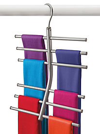 Lynk� Hanging Tiered Scarf Organizer