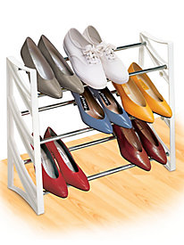 Lynk� 9 Pair Convertible Shoe Rack