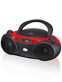 AM/FM CD Boombox with LED Display