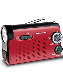 AM/FM/Weather Band Radio with Flashlight