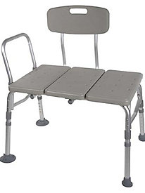 Height-Adjustable Transfer Bench