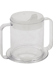 Clear 2 Handle Cup 83198