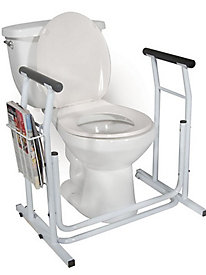 Stand-Alone Toilet Safety Rail